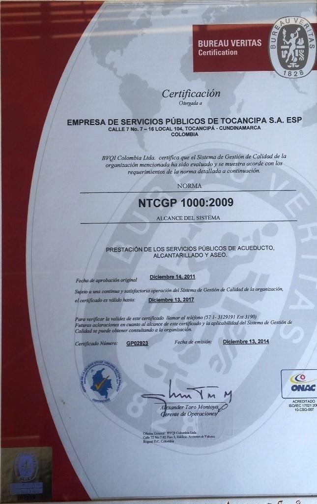 NTCGP 1000 - 2009